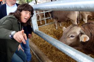 La consellera d'Agricultura, Teresa Jordà