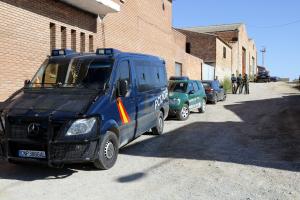 Pla general del dispositiu policial a Bell-lloc d'Urgell