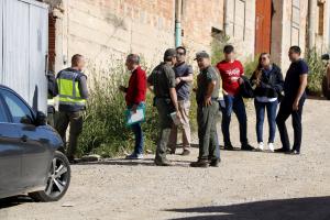 Agents de la policia espanyola amb Agents Rurals