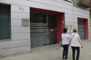 Pla obert on es pot veure la regidoria de Benestar Social i Ciutadania on treballa el tècnic