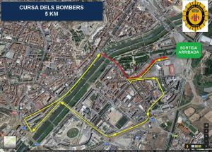 Plànol de la cursa de 5km
