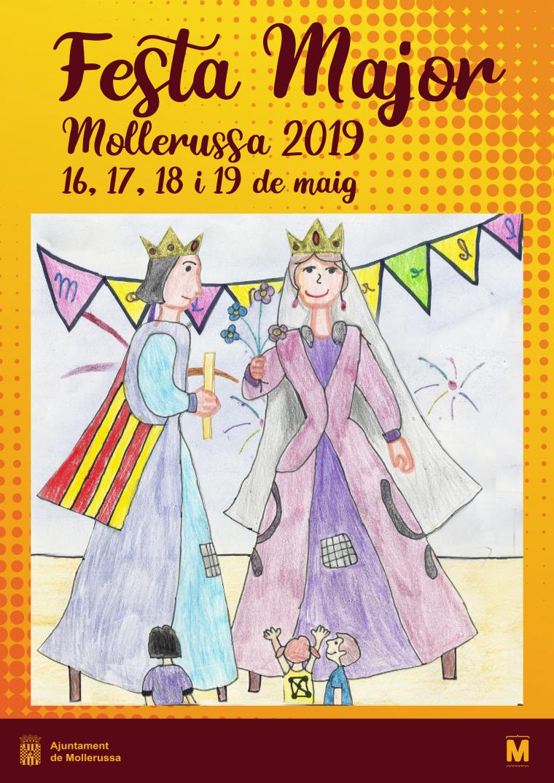 Cartell de la Festa Major de Mollerussa