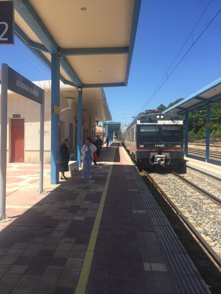 Estació de tren de les Borges Blanques