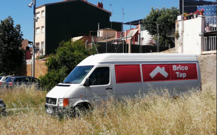 Imatge de la furgoneta robada d'Acudam