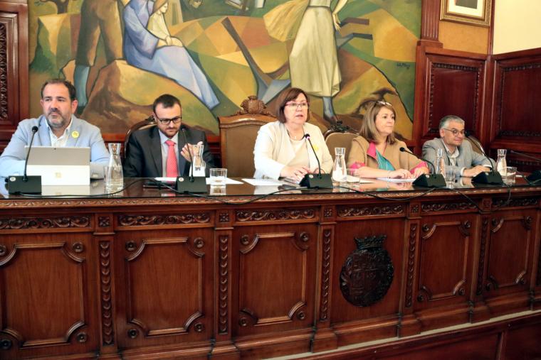 Imatge de la presidenta de la Diputació de Lleida, Rosa Maria Perelló