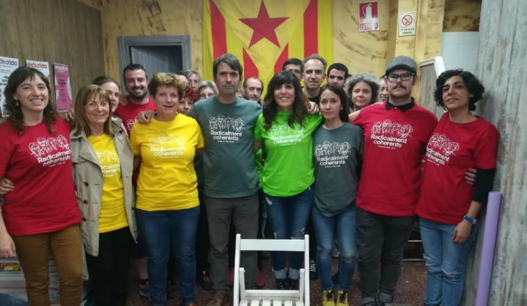 Imatge del grup de la Crida a Lleida