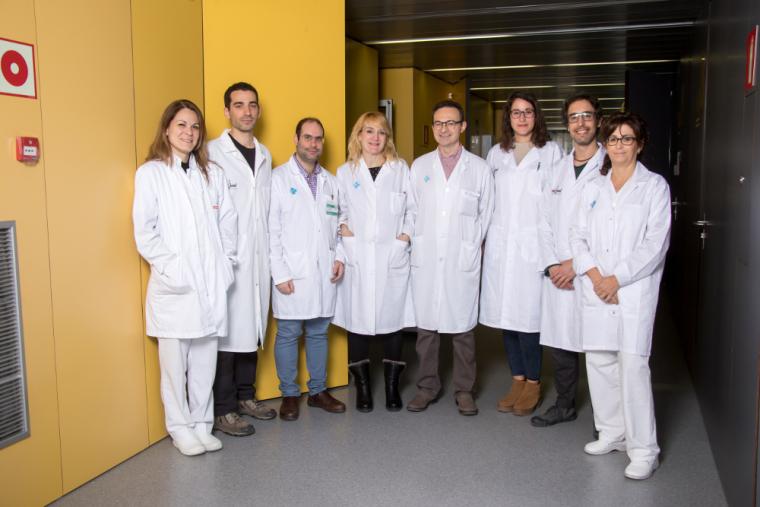 Imatge del grup d'investigadors