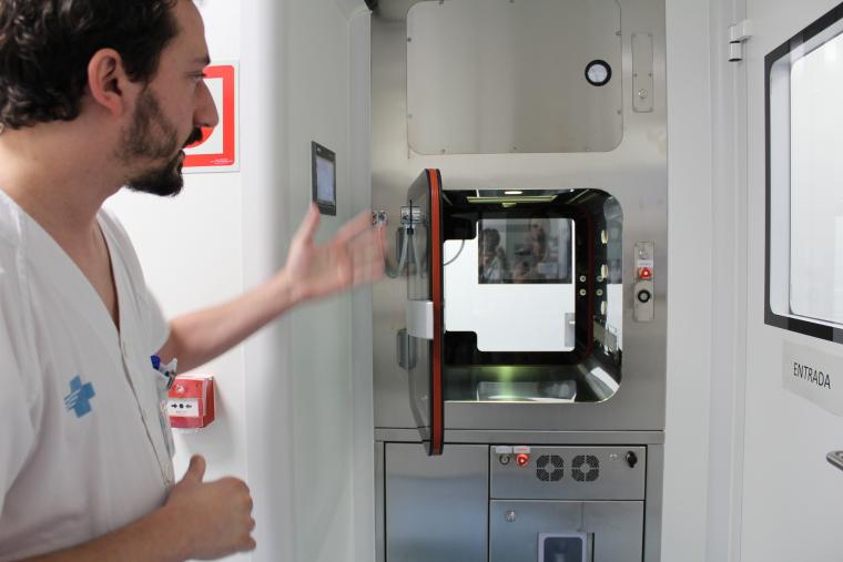 Imatge del nou laboratori