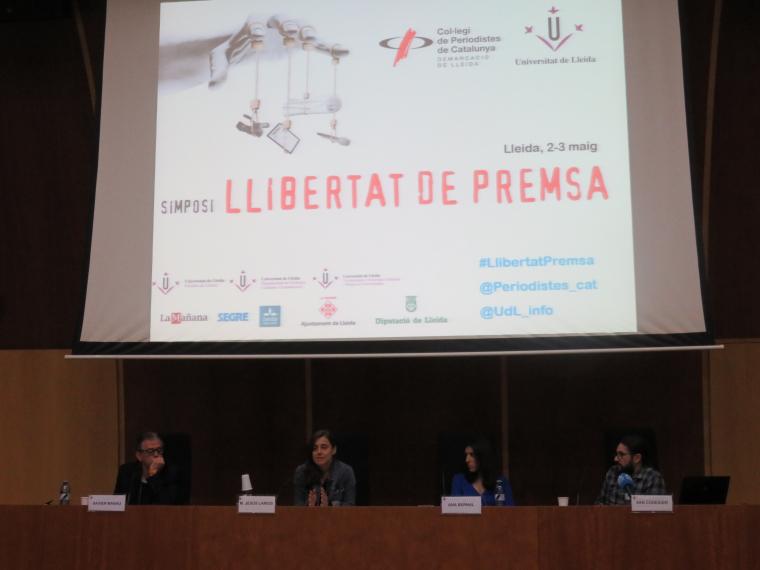 Imatge del simposi a Lleida