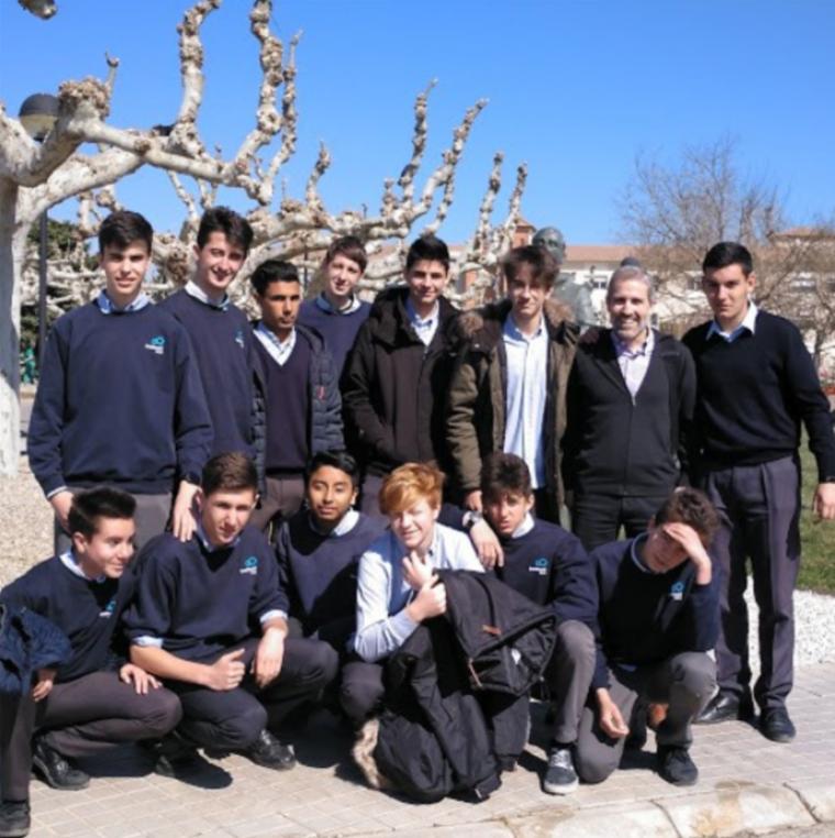 Imatge dels joves del projecte del Terraferma