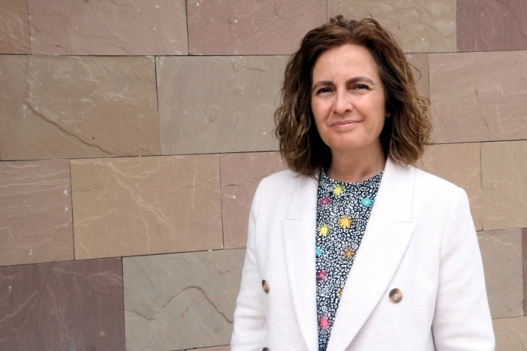 La candidata a l'alcaldia de Tremp per Compromís per Tremp, Sílvia Romero