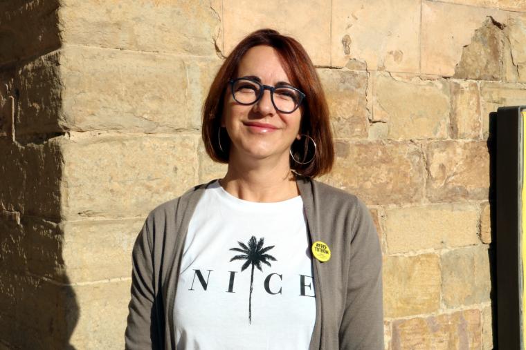 La candidata de Junts per Tremp, Anna Ritz