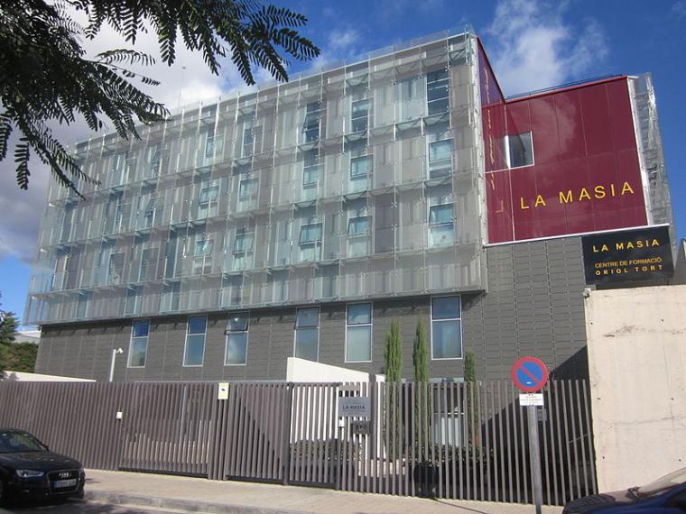 La Masia, Centre de Formació Oriol Tort.