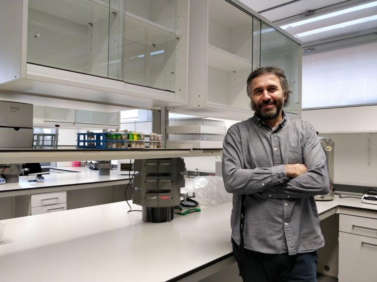 L'investigador Andreu Casali