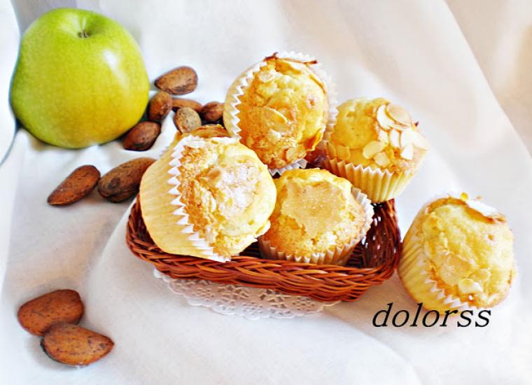 Magdelenes de poma i ametlles