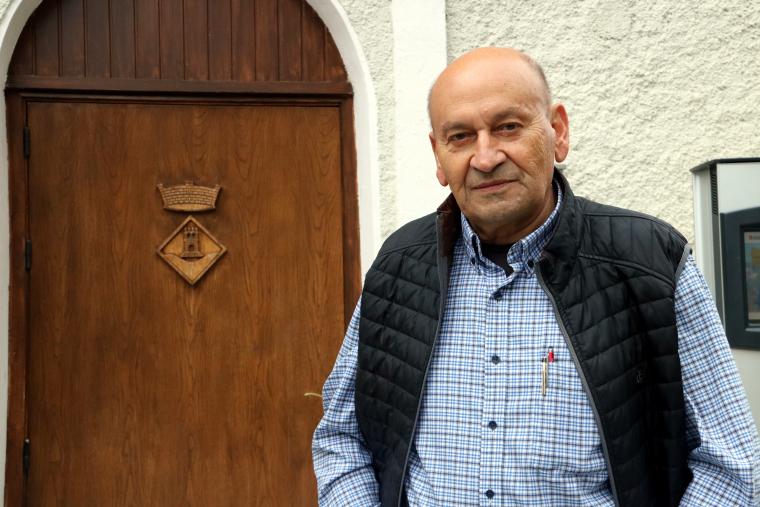 El candidat per ERC a l'alcaldia de la Torre de Capdella, Josep Maria Dalmau