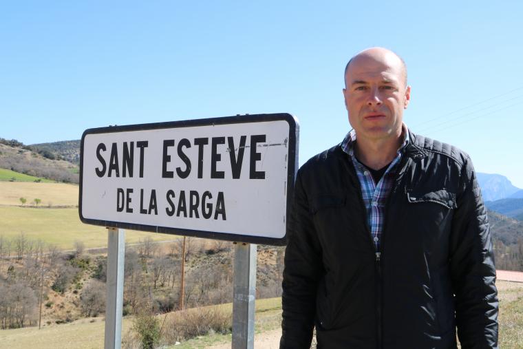Pla mig de Jordi Navarra, alcalde de Sant Esteve de la Sarga