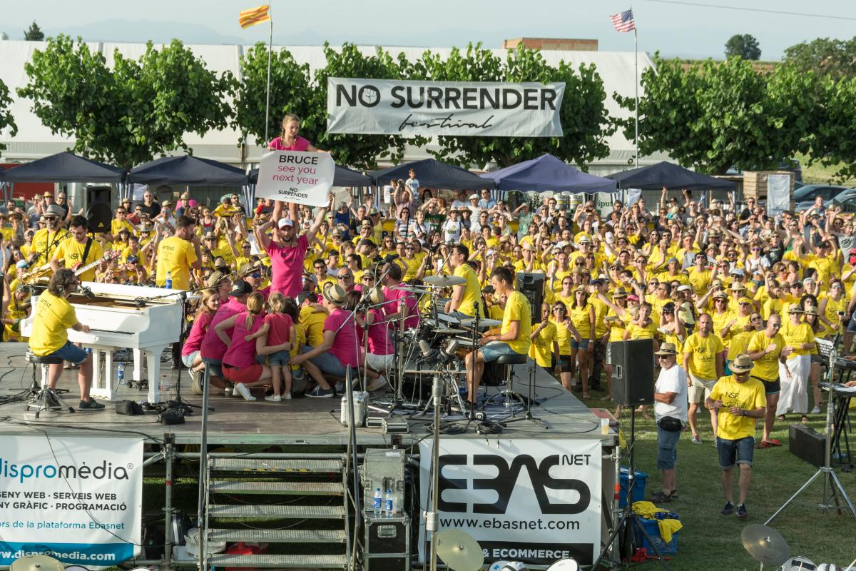 Imatge d'arxiu del 'No Surrender Festival'