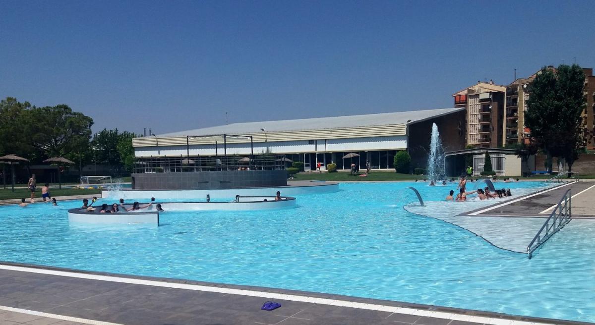 Imatge de les piscines de Mollerussa