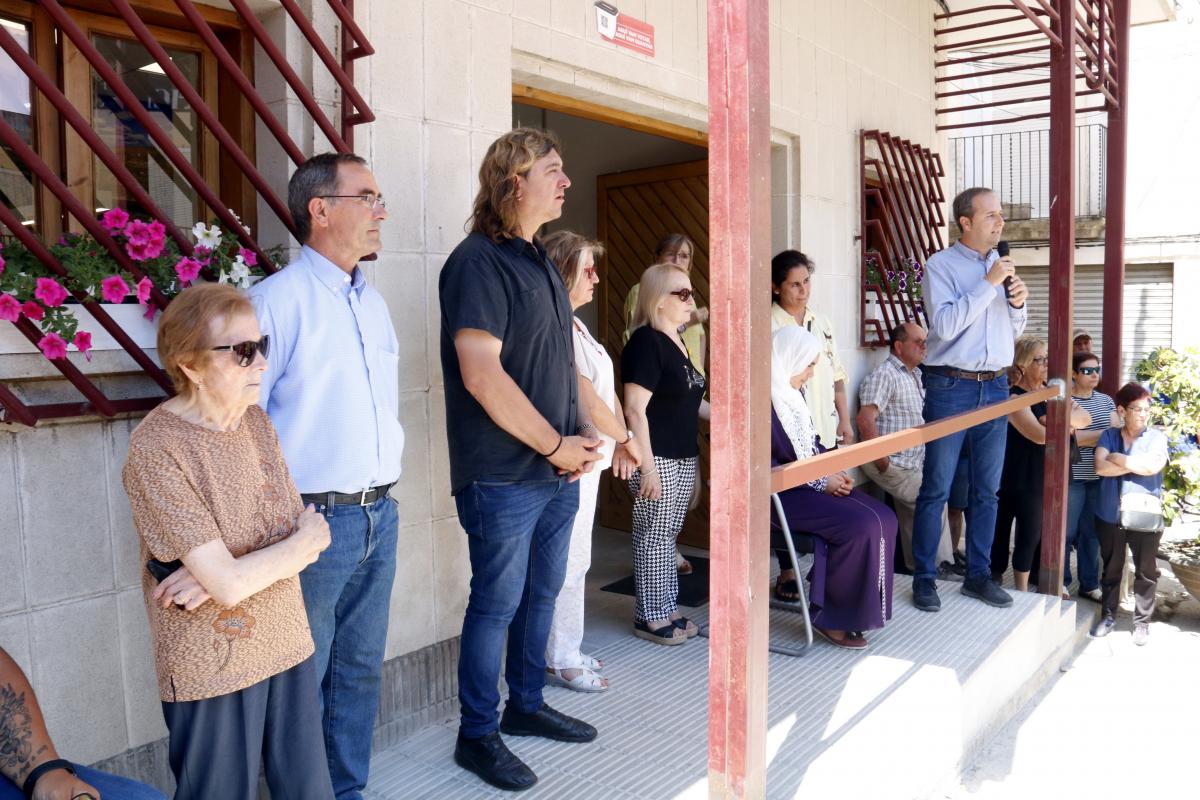 L'alcalde de la Granja d'Escarp i alcaldes d'altres municipis com Maials