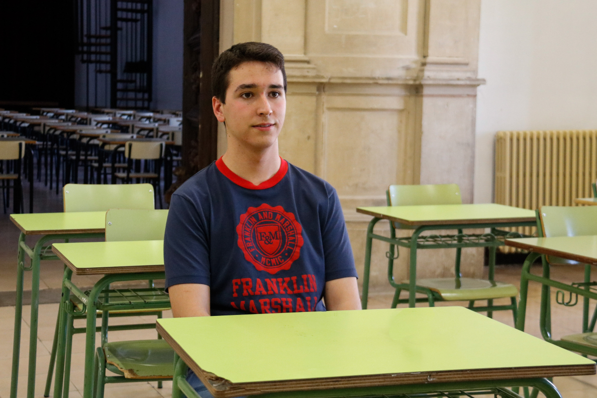 L'Eduard Garrabou de l'institut Antoni Torroja de Cervera