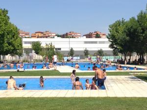Imatge de les piscines de Balàfia