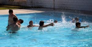 Imatge de les piscines de la Bordeta