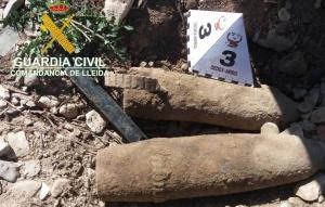 Imatge dels artefactes trobats a Tàrrega