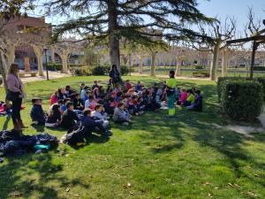 Imatge d'una plantada d'arbres a l'emblemàtic parc del Terrall de les Borges