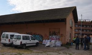 Pla general on es pot veure l'espai de trànsit per a animals abandonats de Mollerussa