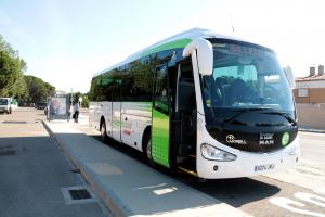 Pla obert del bus exprés que connectarà Alpicat i Lleida