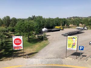 Zona on s'ubicarà el Circ Picat