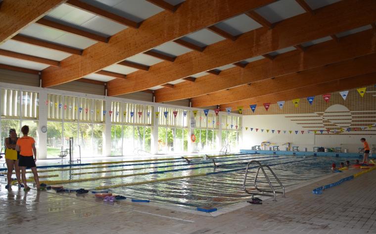 Imatge de la piscina coberta de Mollerussa