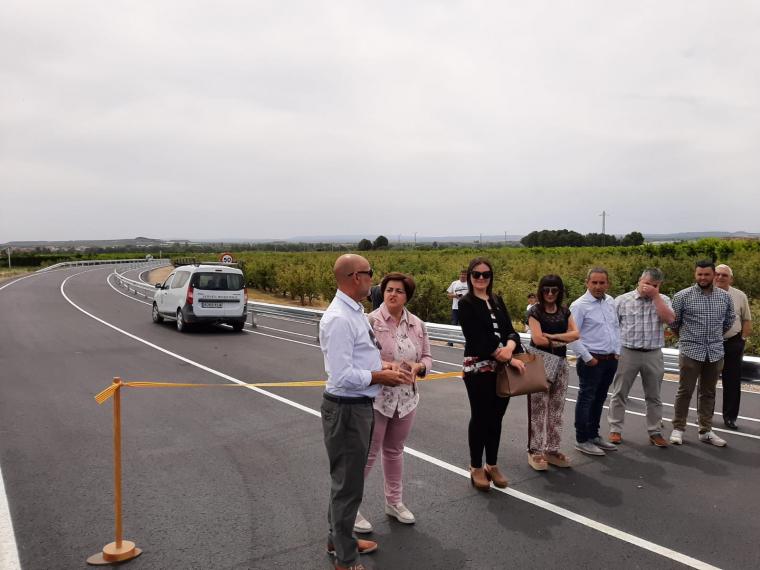 Inauguració del nou vial de Soses
