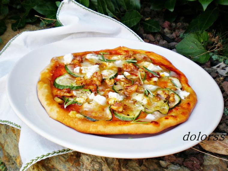 Imatge de la pizza de la Dolors Mateu