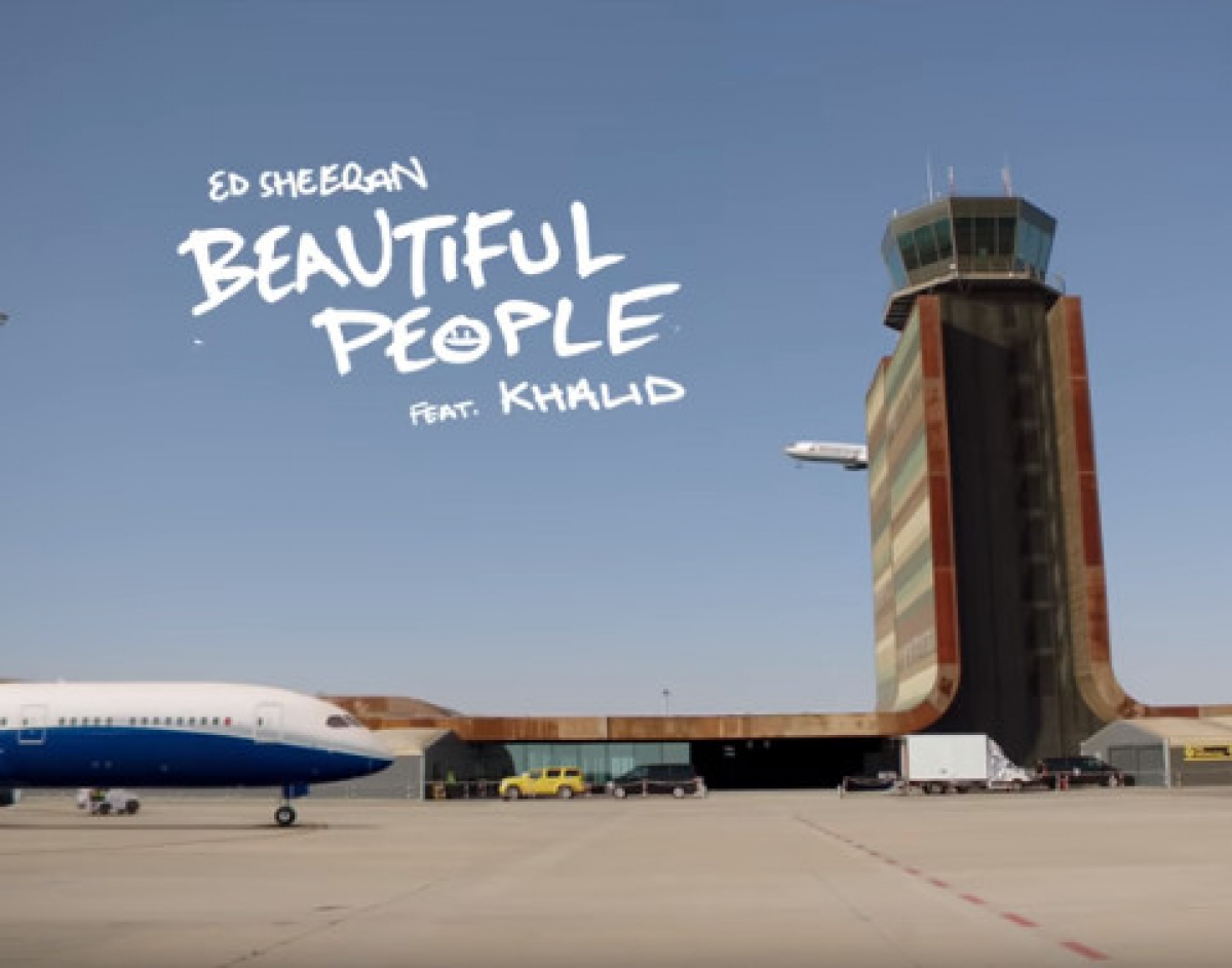 Fotograma del videoclip 'Beautiful People', d'Ed Sheeran