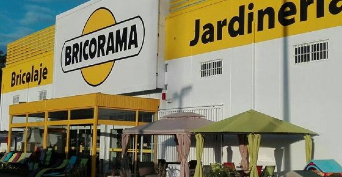 Imatge d'arxiu d'una botiga Bricorama