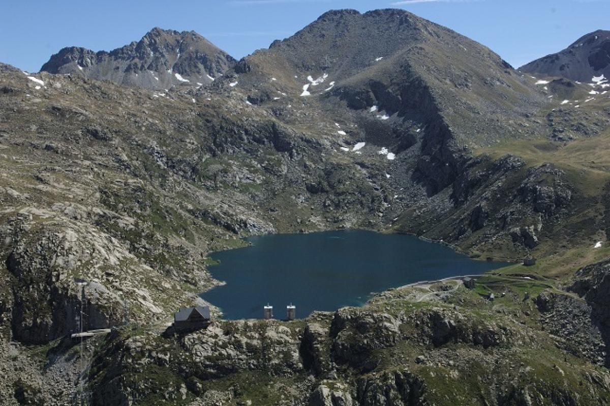 Imatge de l'estany de Gento