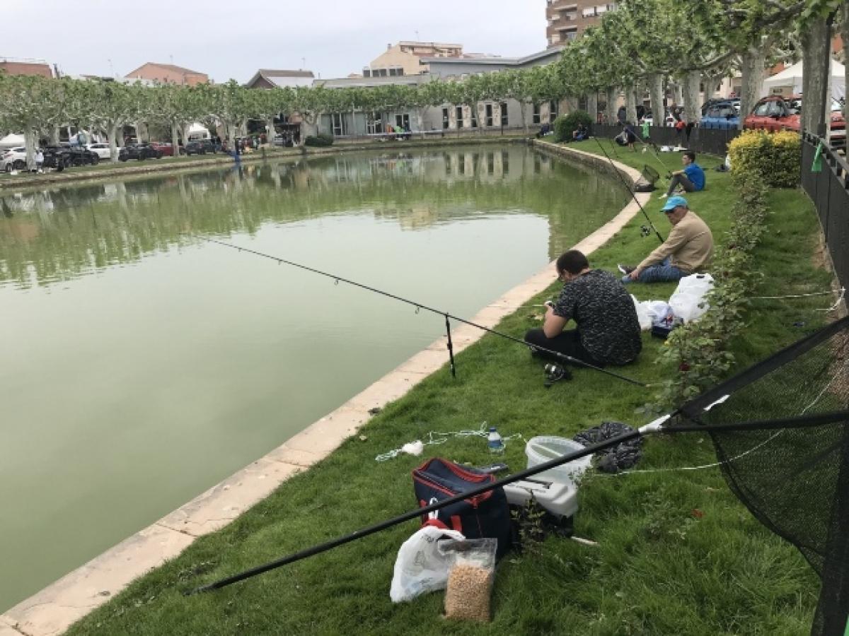 Imatge del concurs de pesca a les Borges
