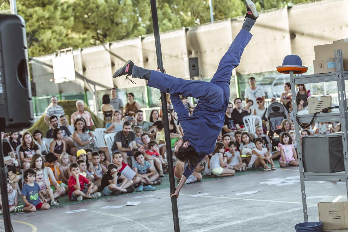 Imatge d'una actuació al Circ Picat