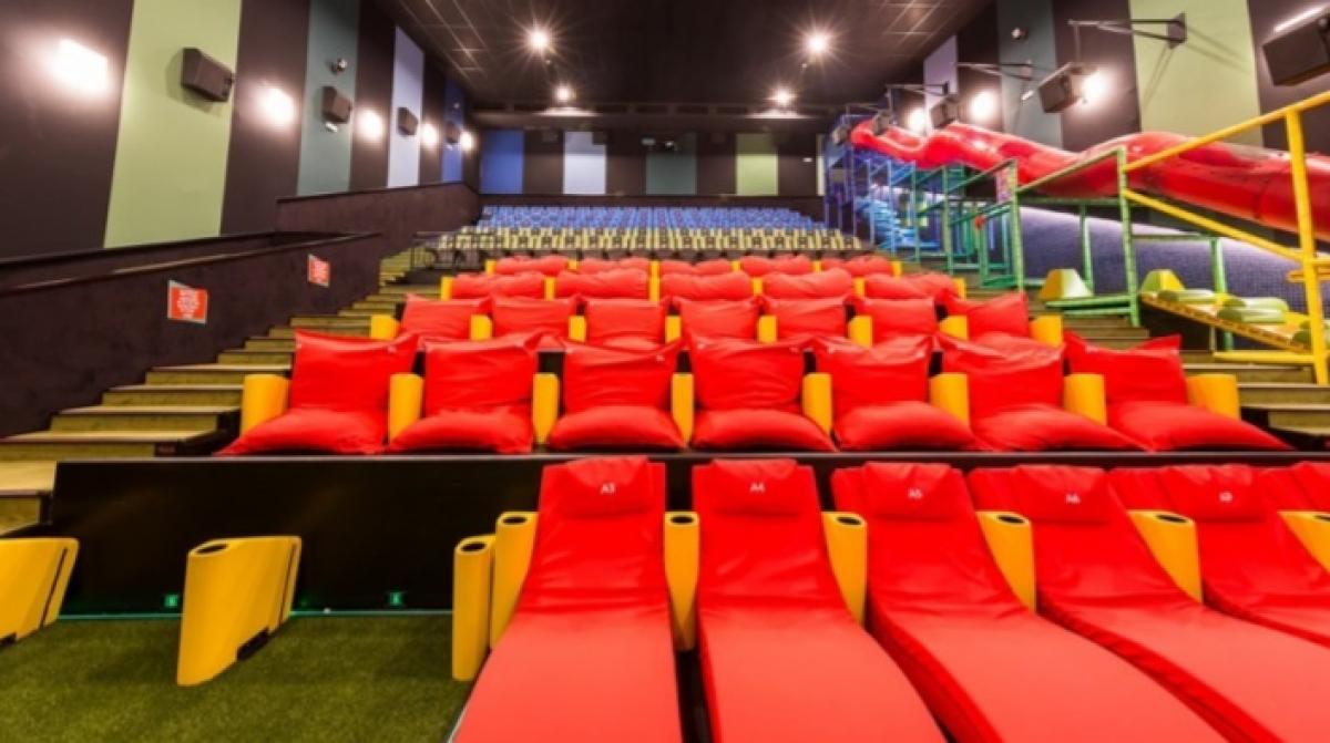 Imatge d'una sala Junior de Yelmo cinemes