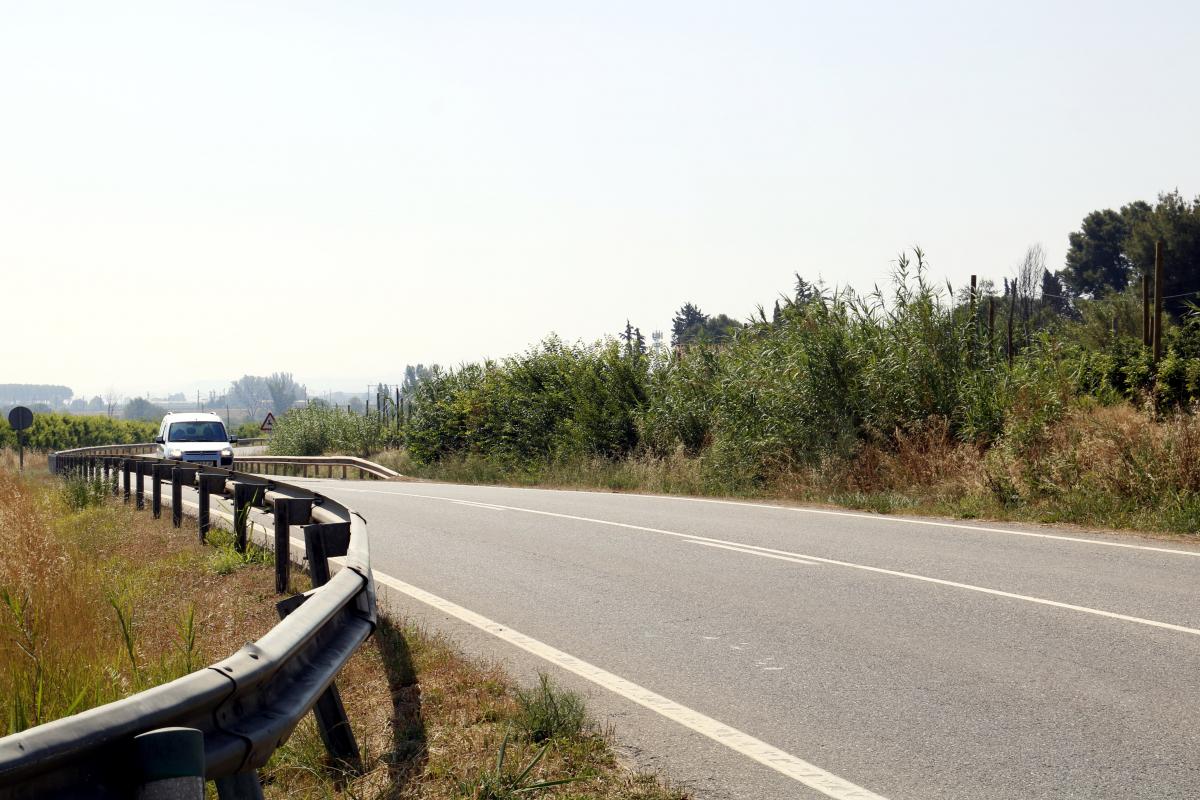 La carretera L-702 de Lleida a Artesa de Lleida