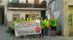 Concentracio de la PAH de Lleida als Magraners