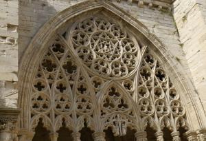 Detall del claustre de la Seu Vella