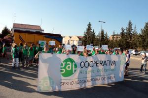 Imatge de la protesta dels partidaris de Nova Tracjusa