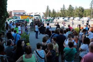 Imatge de les protestes entre partidaris i detractors de Nova Tracjusa