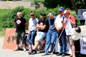 Imatge dels representants de les associacions de ramaders del Pallars