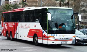 Imatge d'un autocar de l'Alsina Graells
