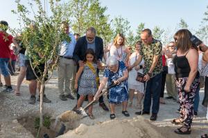 Inauguració del nou bosc urbà