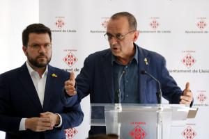 L'alcalde de Lleida, Miquel Pueyo
